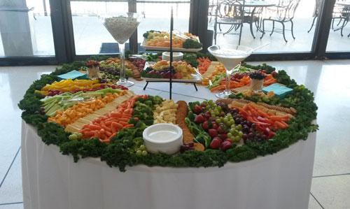 Elegant Appetizer Table