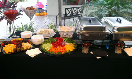 Buffet and Appetizers