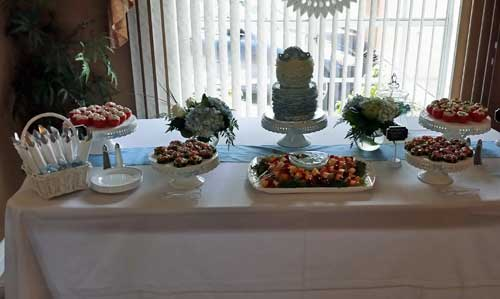 Creative Baby Shower Table