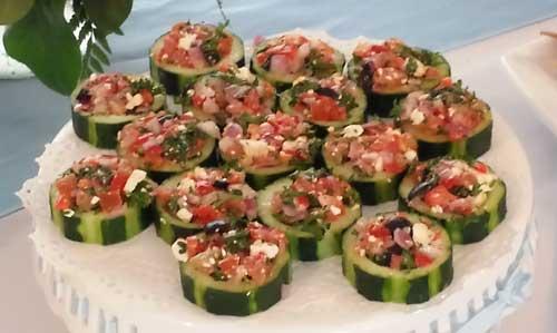 Unique Mediterranean Appetizer