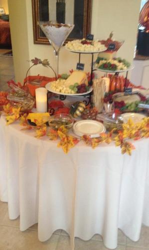 Autumn Cheese Table